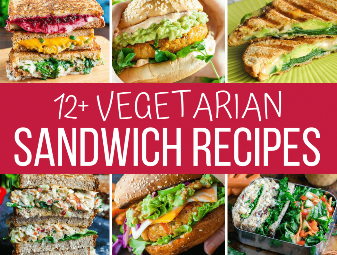 10+ Amazing Vegetarian Sandwiches - Recipes and More! - Sandwich Recipes Amazing