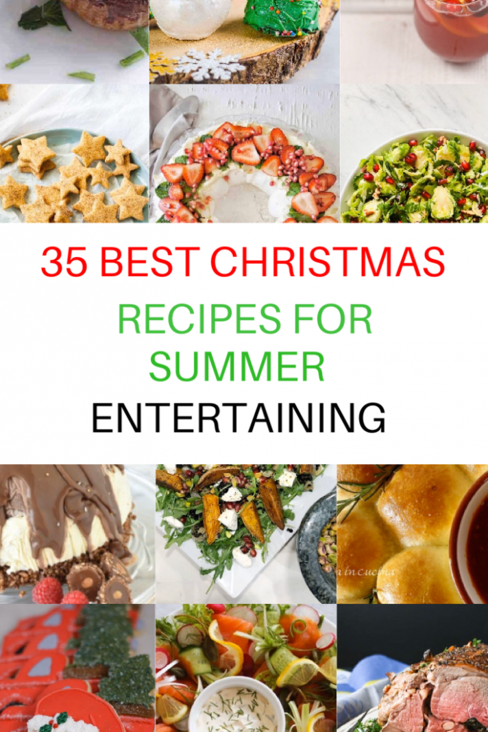 10 Best Christmas Recipes for Summer Entertaining – KJ'S FOOD JOURNAL