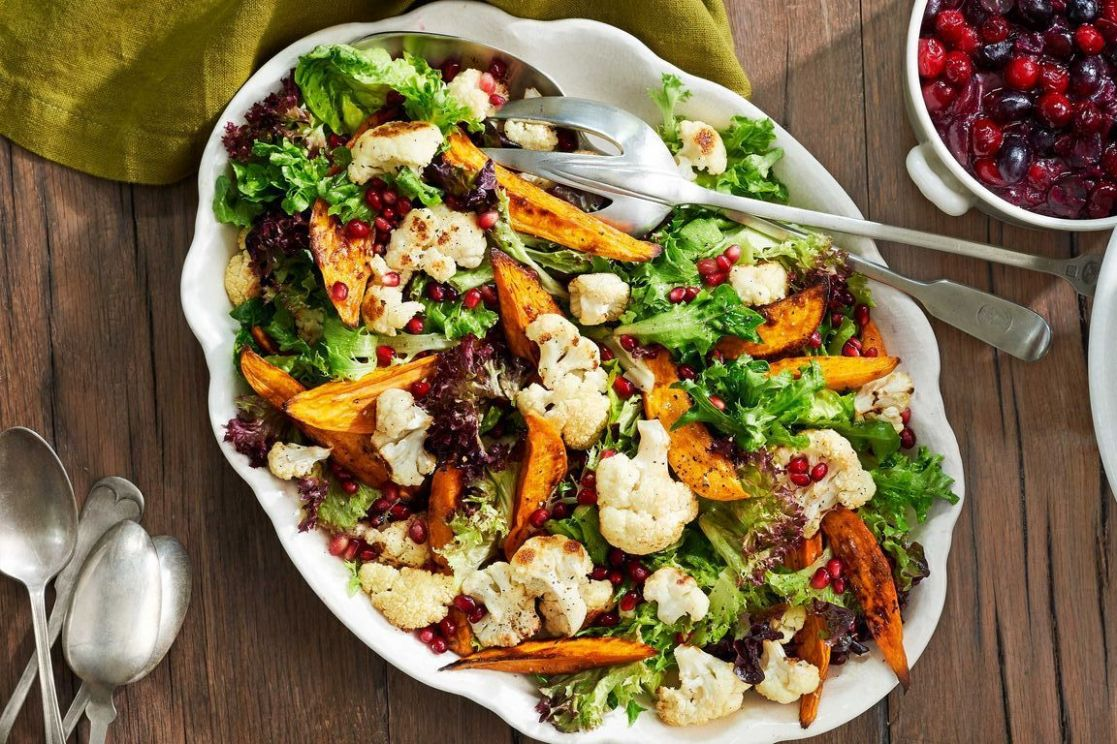 10 Best Christmas Salad Recipes - Easy Holiday Salad Ideas - Salad Recipes Christmas