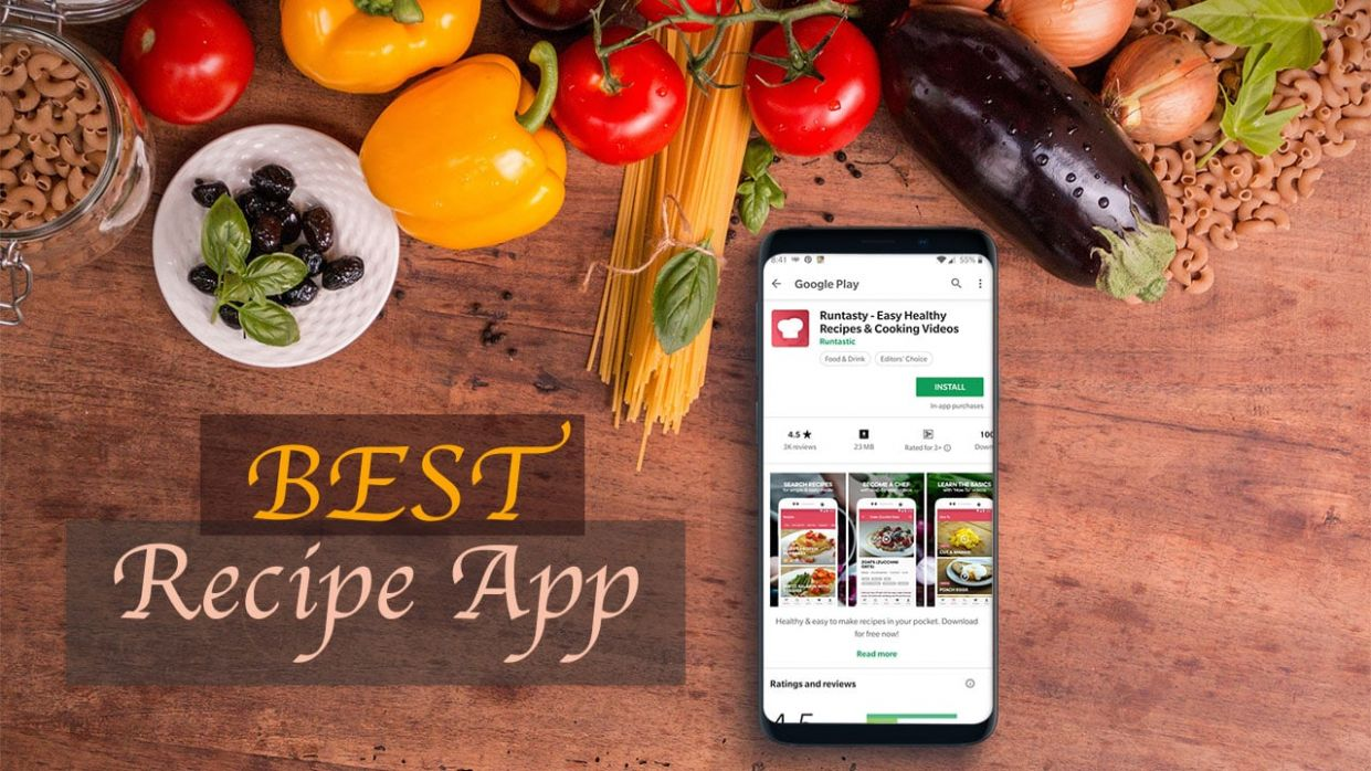 10 Best Free Recipe App/ Cooking apps for Android | GetANDROIDstuff - Food Recipes Download
