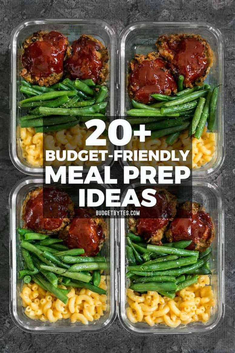 10+ Budget Friendly Meal Prep Ideas - Budget Bytes - Food Recipes Cheap