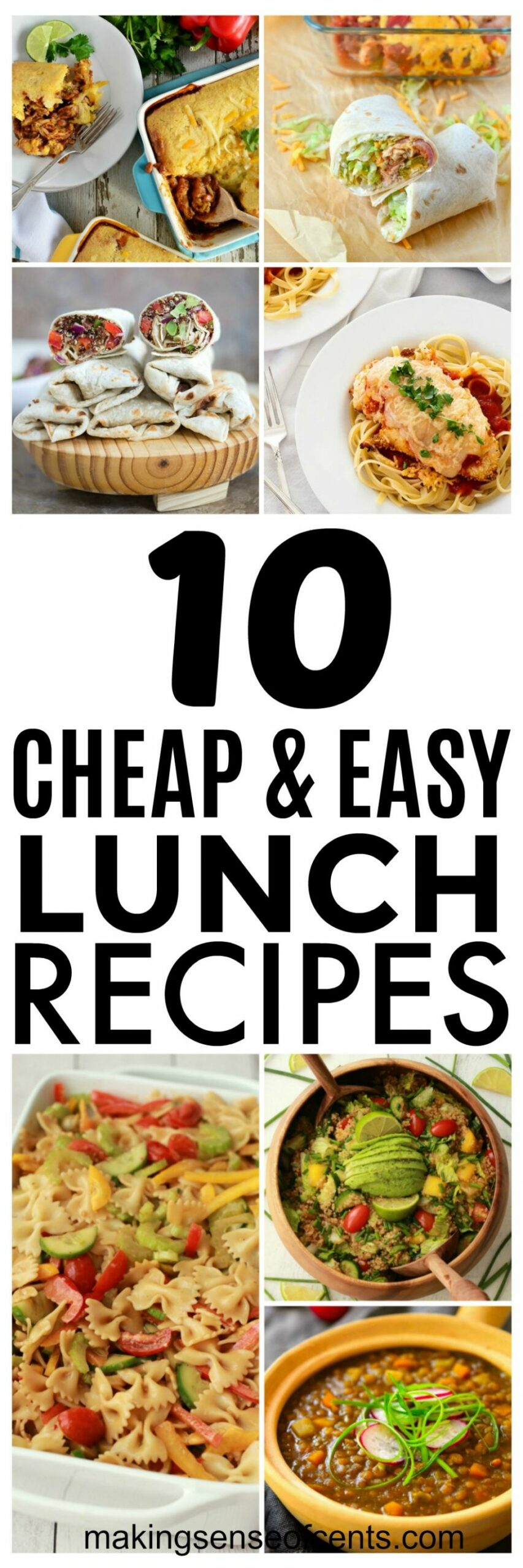 10 Budget Lunch Ideas and Cheap Easy Meals You Should Try - Food Recipes Cheap