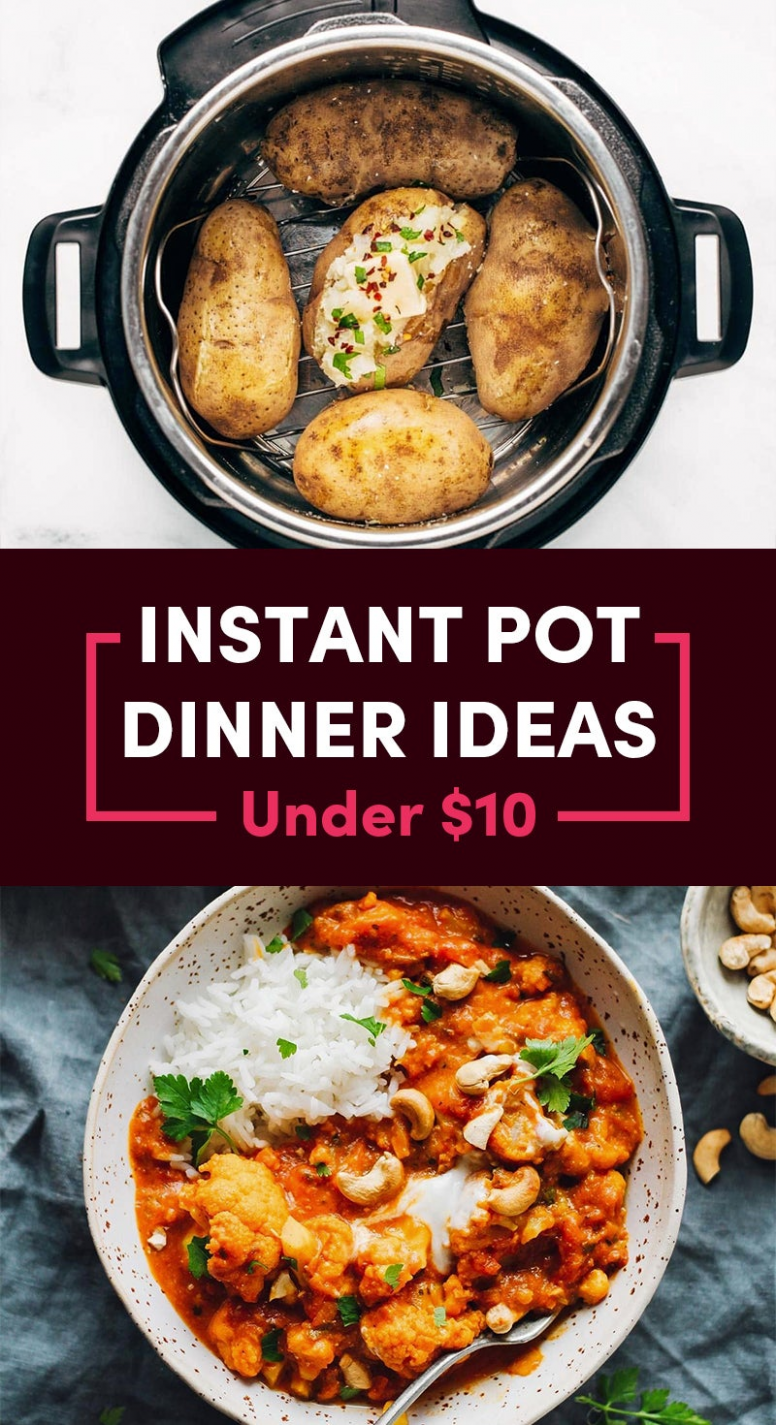 10 Cheap And Easy Instant Pot Recipes