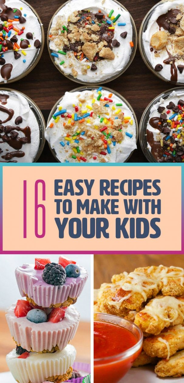 10 Delicious And Fun Recipes You Can Make With Your Kids - Easy Recipes Buzzfeed