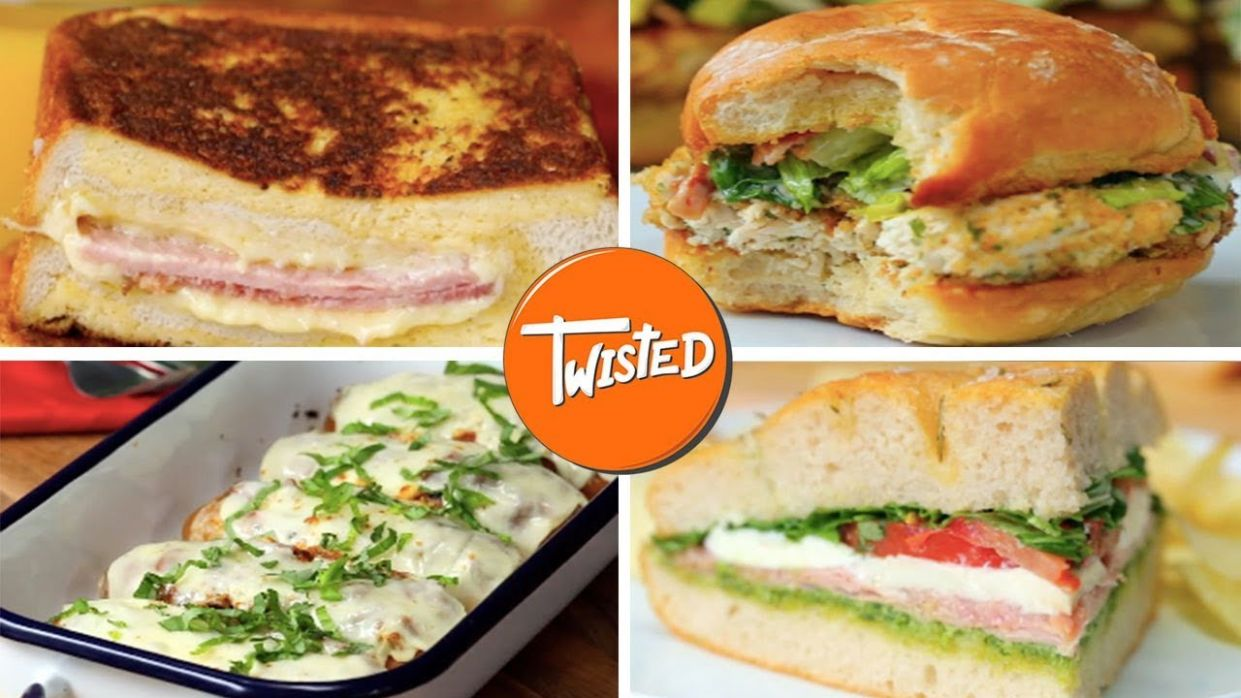 10 Delicious Sandwich Recipes For Lunch - Sandwich Recipes Amazing