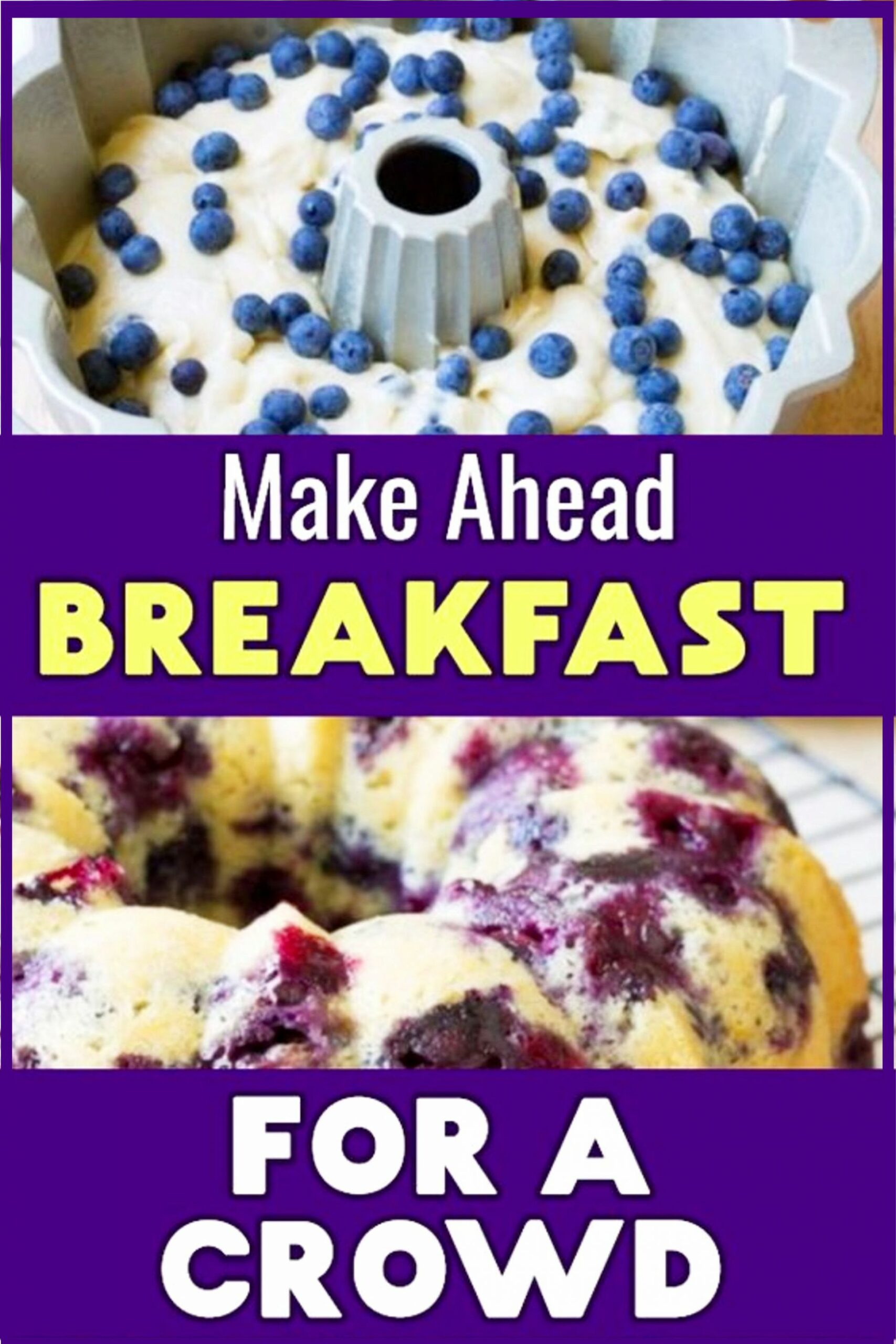 10 Easy Brunch Recipes For a Crowd - Breakfast Bundt Cake Recipes ..