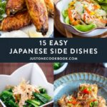 10 Easy Japanese Side Dish Recipes • Just One Cookbook – Easy Recipes Japanese Food