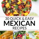 10 Easy Mexican Recipes | It Is A Keeper – Easy Recipes Mexican