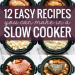 10 Easy Recipes You Can Make In A Slow Cooker – Pinch Of Yum – Easy Recipes Crock Pot