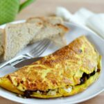 10 Egg Omelet With Quinoa, Sun Dried Tomatoes, Spinach, And Goat Cheese – Egg Omelette Recipe
