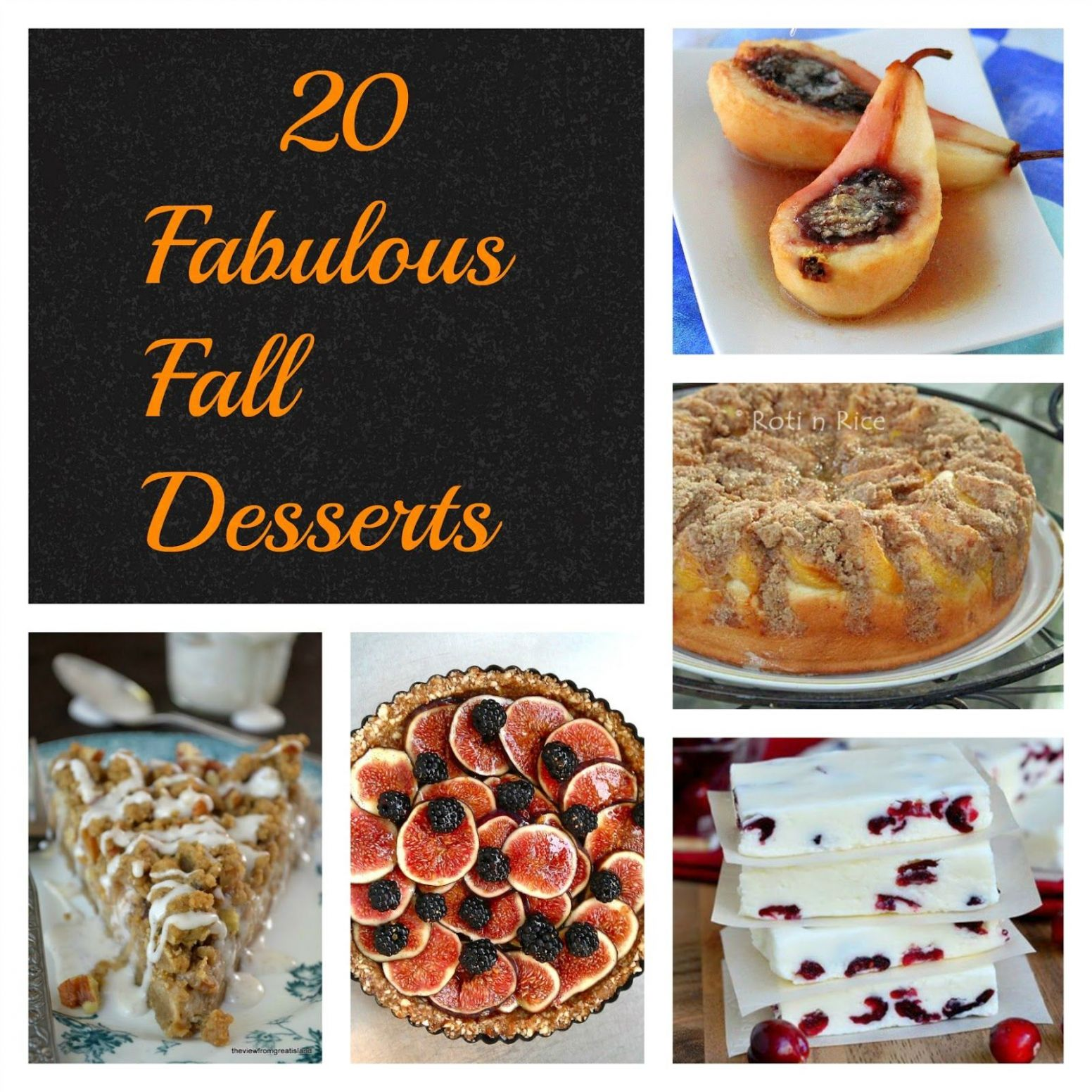 10 FABULOUS FALL DESSERTS! Welcome Autumn with these delectable ..