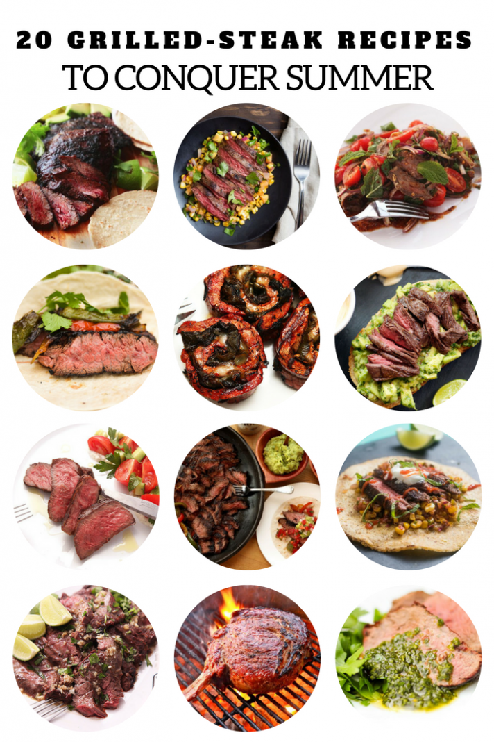 10 Grilled-Steak Recipes to Conquer Summer | Grilled steak recipes ..