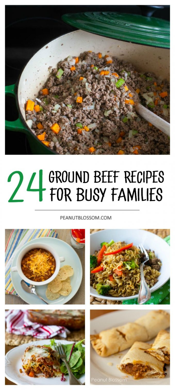 10 ground beef recipes you can make in a pinch - Beef Recipes Kid Friendly