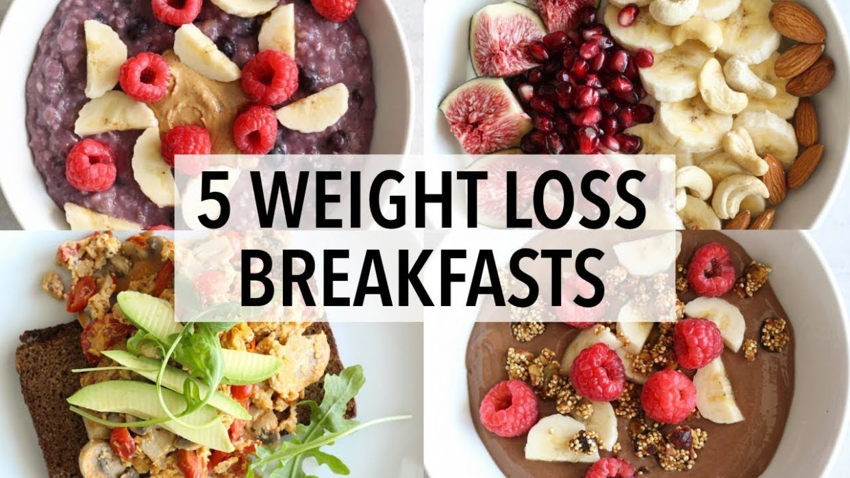 10 HEALTHY BREAKFAST IDEAS FOR WEIGHT LOSS - Recipes For Weight Loss Breakfast