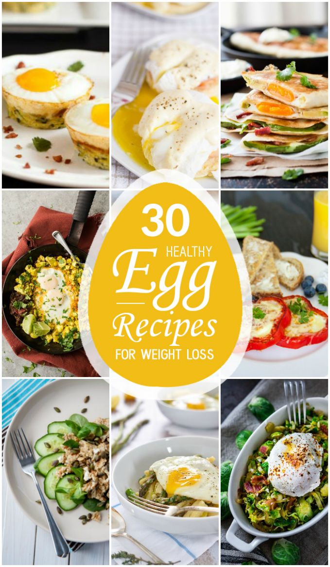 10 Healthy Egg Recipes for Weight Loss - Weight Loss Quick Recipes