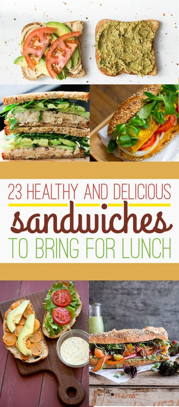 10 Healthy Lunch Sandwiches That Will Make You A Champion At Life - Sandwich Recipes Lunch Healthy