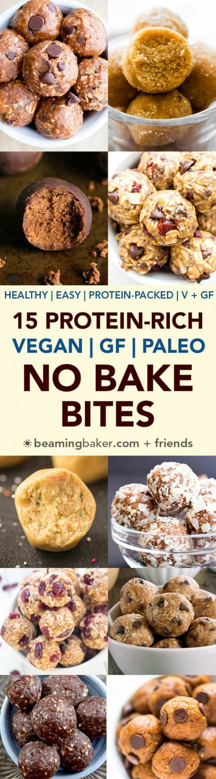 10 Healthy Protein-Packed No Bake Energy Bite Recipes (Gluten Free ..
