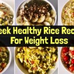 10 Healthy Rice Recipes For Weight Loss | Quick & Easy Vegetarian Lunch/  Dinner Ideas | Hindi – Weight Loss Quick Recipes