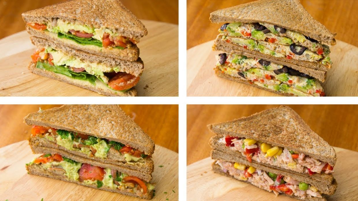 10 Healthy Sandwich Recipes For Weight Loss | Healthy Lunch Ideas - Sandwich Recipes Lunch Healthy