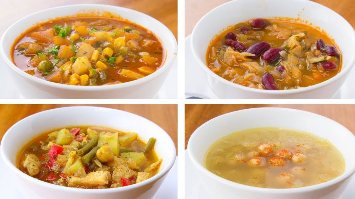 10 Healthy Soup Recipes For Weight Loss, Easy Soup Recipes - Soup Recipes For Weight Loss