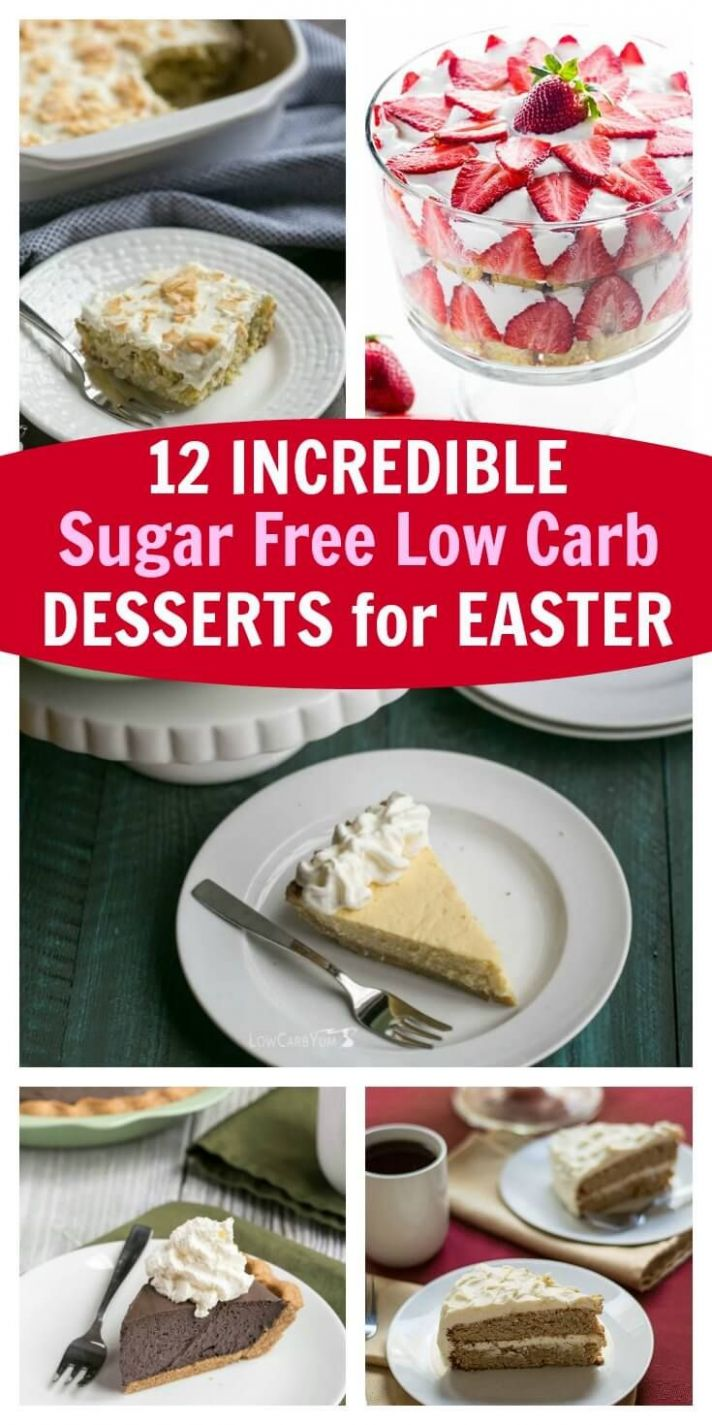 10 Incredible Sugar-Free Low-Carb Desserts For Easter   Low carb ..