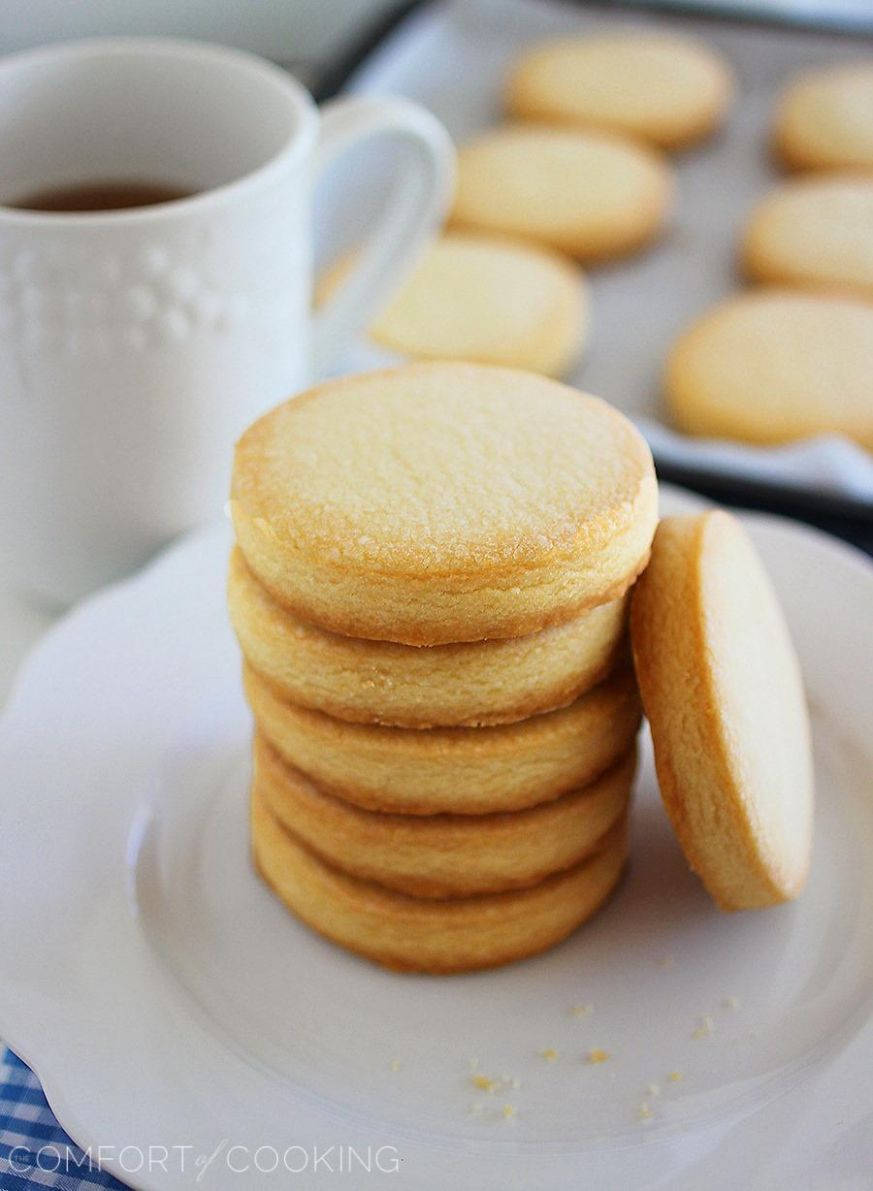 10-Ingredient Shortbread Cookies - Simple Recipes With Flour