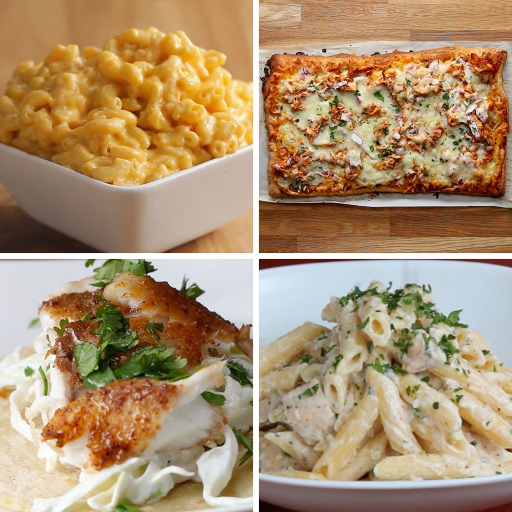 10 Meals Anyone Can Make | Recipes - Recipes Dinner For 4