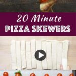 10 Minute Easy Grilled Pizza Skewers (with Video) – Recipes Pizza Skewers