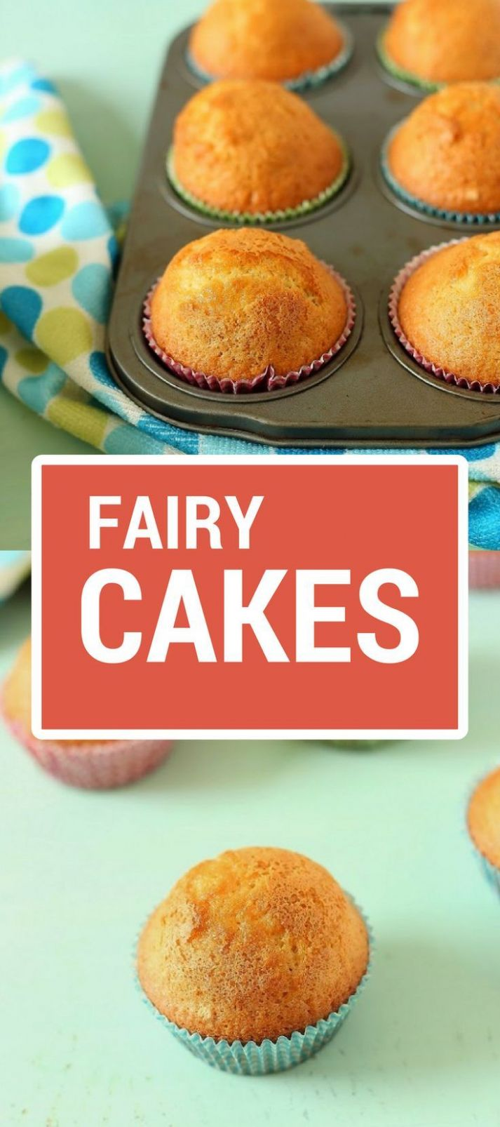 10 minutes fairy cakes - Cake Recipes No Butter