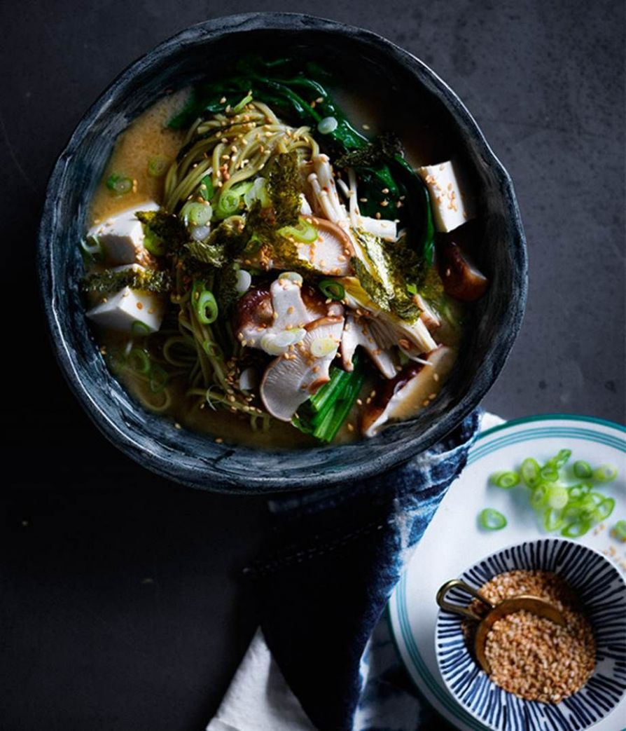 10 noodle soup recipes to slurp through | Miso noodle soup, Miso ..