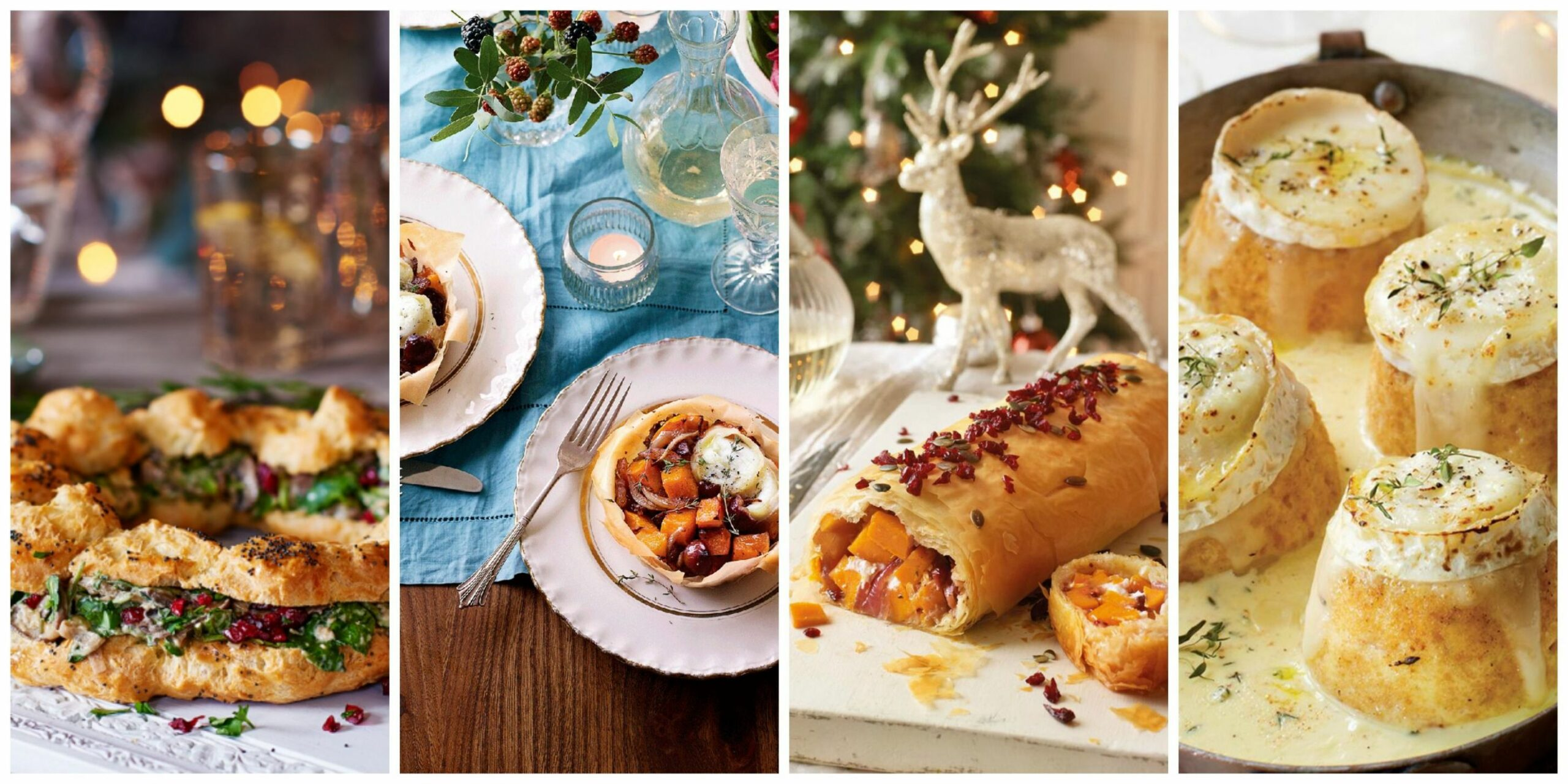 10 of the best vegetarian Christmas recipes - Veggie Xmas dinner - Vegetarian Xmas Recipes Uk