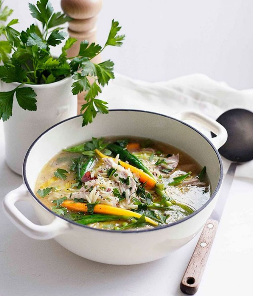 10 One Pot Spring Dishes | Little Green Dot - Soup Recipes Gourmet Traveller