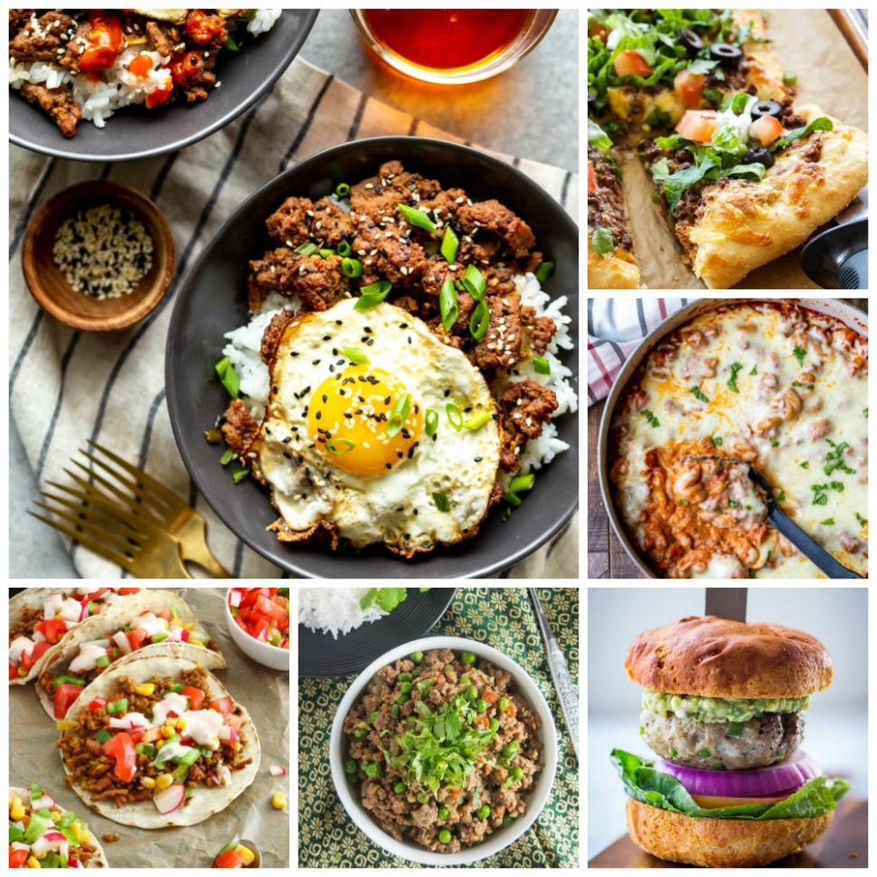 10 Quick & Easy Ground Beef Recipes - Fox and Briar