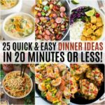 10 Quick And Easy Dinner Ideas In 10 Minutes Or Less! ⋆ Real ..