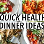 10 QUICK HEALTHY DINNER IDEAS | Easy Weeknight Recipes! – Healthy Recipes Quick And Cheap