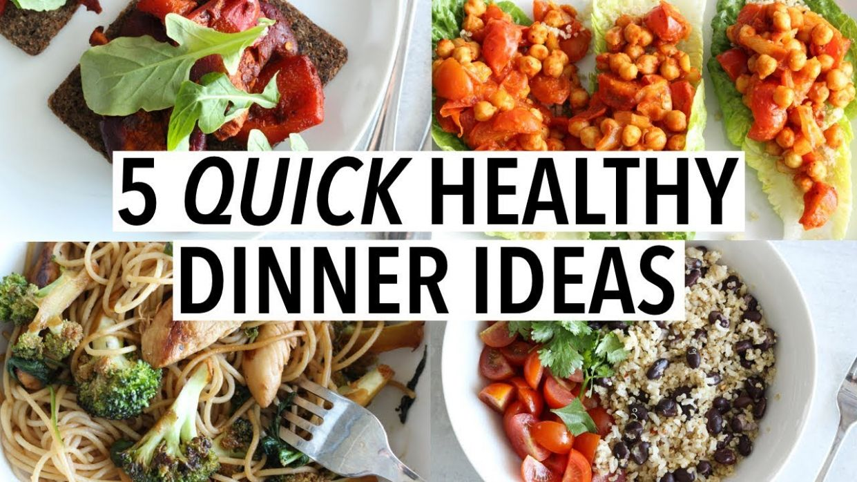 10 QUICK HEALTHY DINNER IDEAS | Easy weeknight recipes! - Healthy Recipes Quick And Cheap