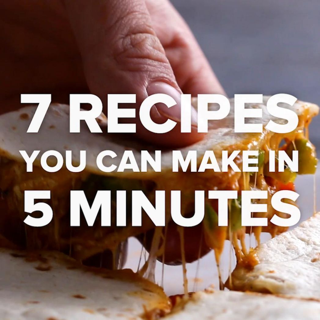 10 Recipes You Can Make In 10 Minutes - Easy Recipes You Can Make At Home