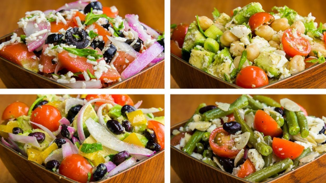 10 Salad Recipes For Weight Loss Vegetarian | Healthy Salad Recipes - Salad Recipes For Weight Loss Veg