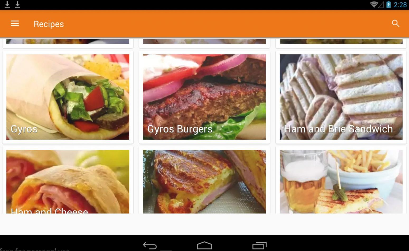 10+ Sandwich Recipes for Android - APK Download - Sandwich Recipes Download