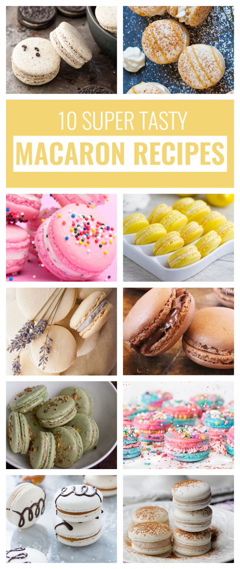 10 Super Tasty Macaron Recipes on Pinterest - delicious dessert ..