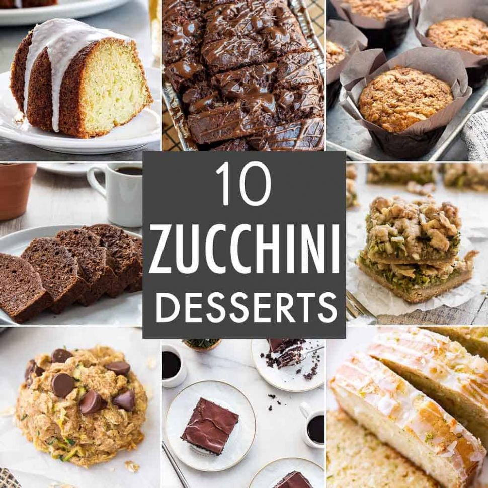 10 Zucchini Desserts - My Baking Addiction - Zucchini Dessert Recipes