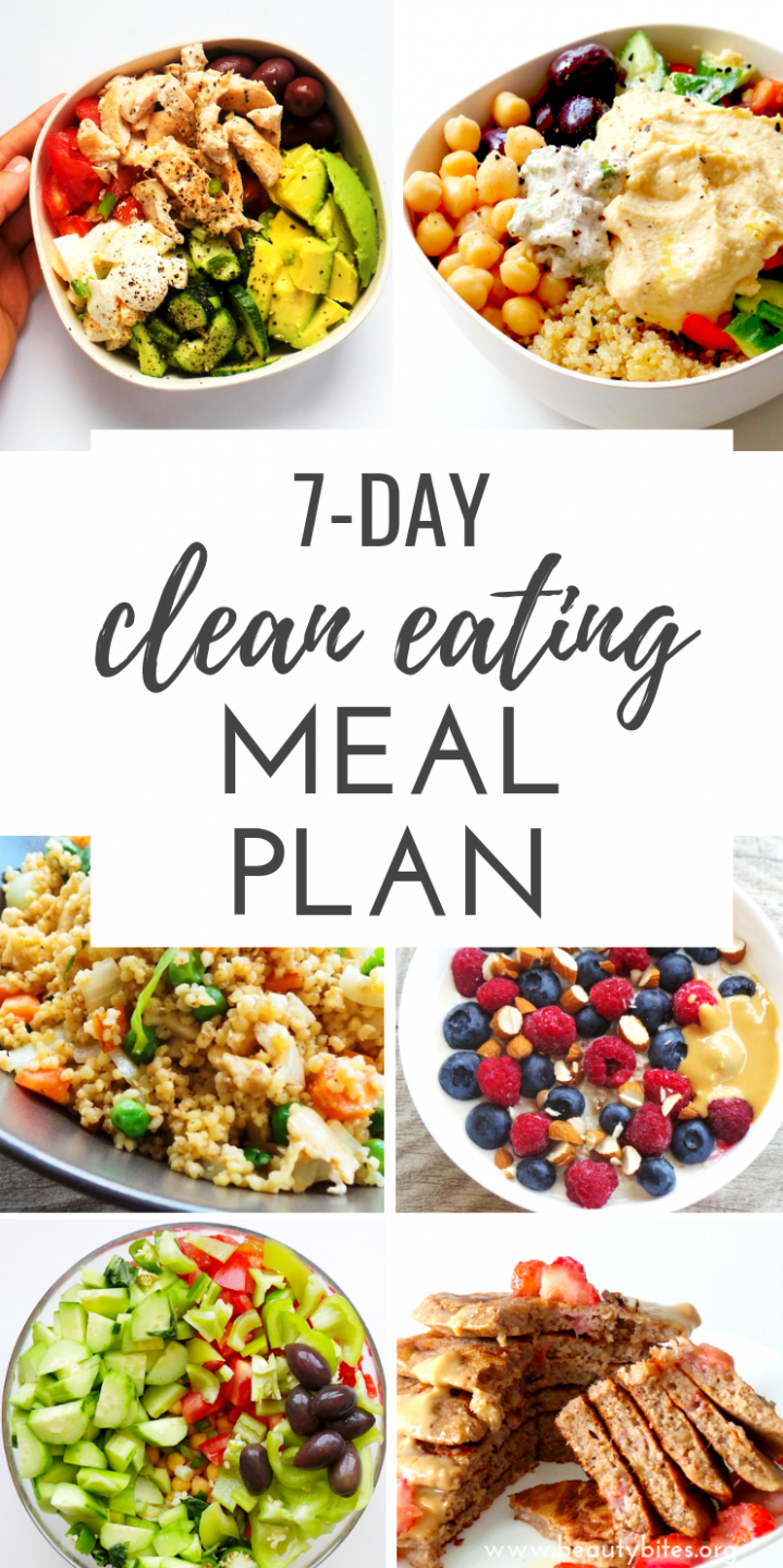 11-Day Clean Eating Challenge & Meal Plan (The First One | Sauber ..