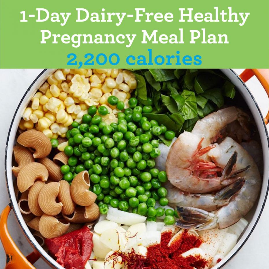11-Day Dairy-Free Healthy-Pregnancy Meal: 11,1100 Calories | EatingWell - Healthy Recipes In Pregnancy