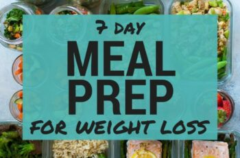 11 Day Meal Plan For Weight Loss