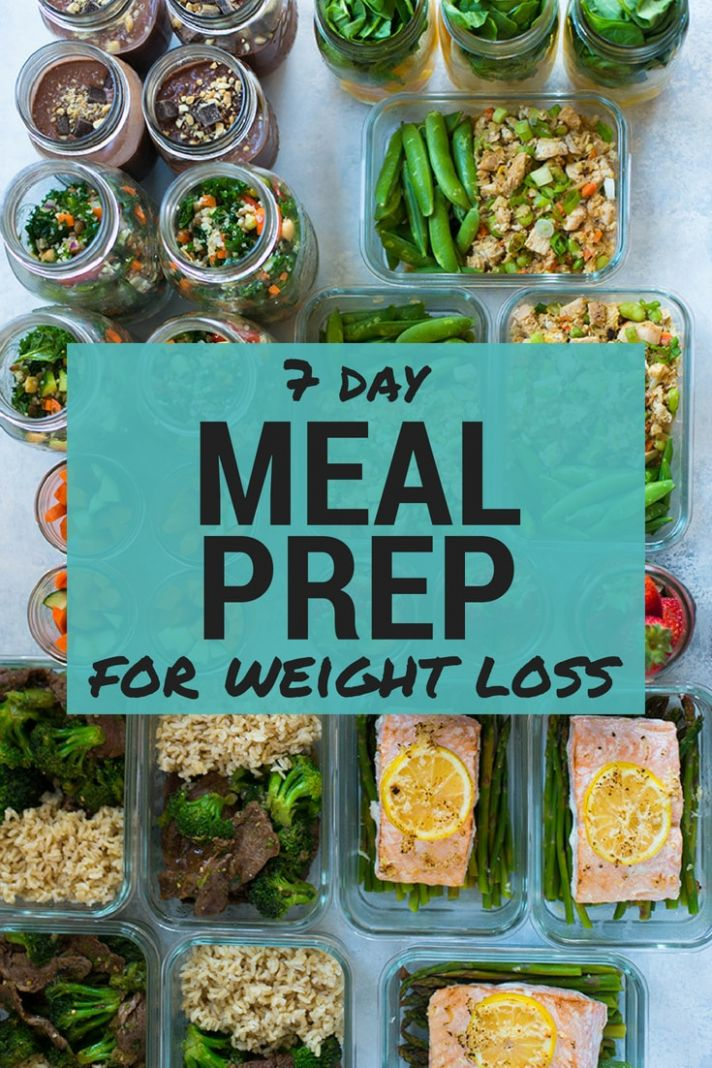 11 Day Meal Plan For Weight Loss - Meal Prep Recipes For Weight Loss Grocery List