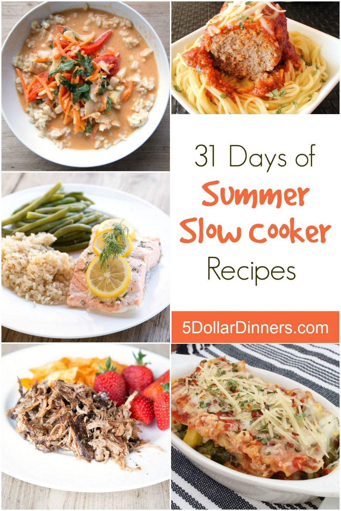 11 Days of Summer Slow Cooker Recipes | Slow cooker recipes, Food ..