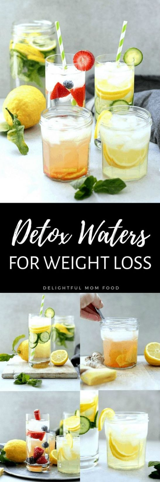 11 Detox Water Recipes For Weight Loss & Body Cleanse | Delightful ...