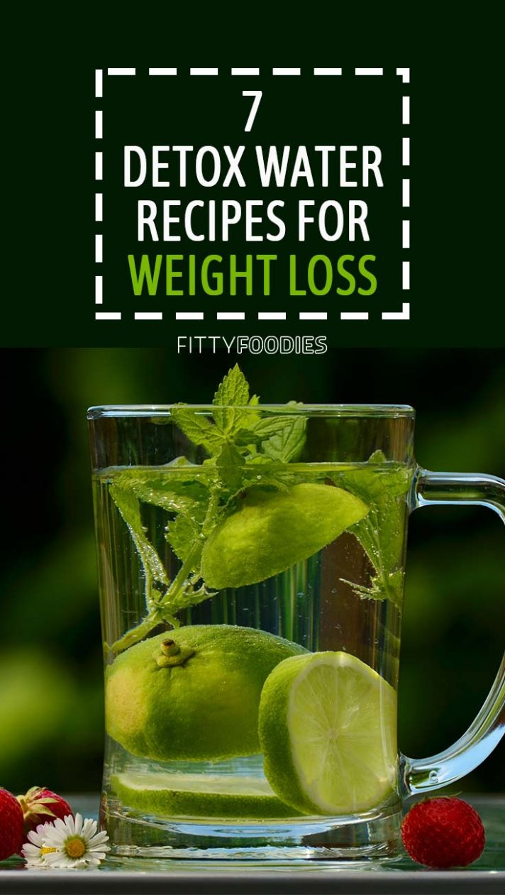 11 Detox Water Recipes For Weight Loss - FittyFoodies - Recipes For Detox Weight Loss Water