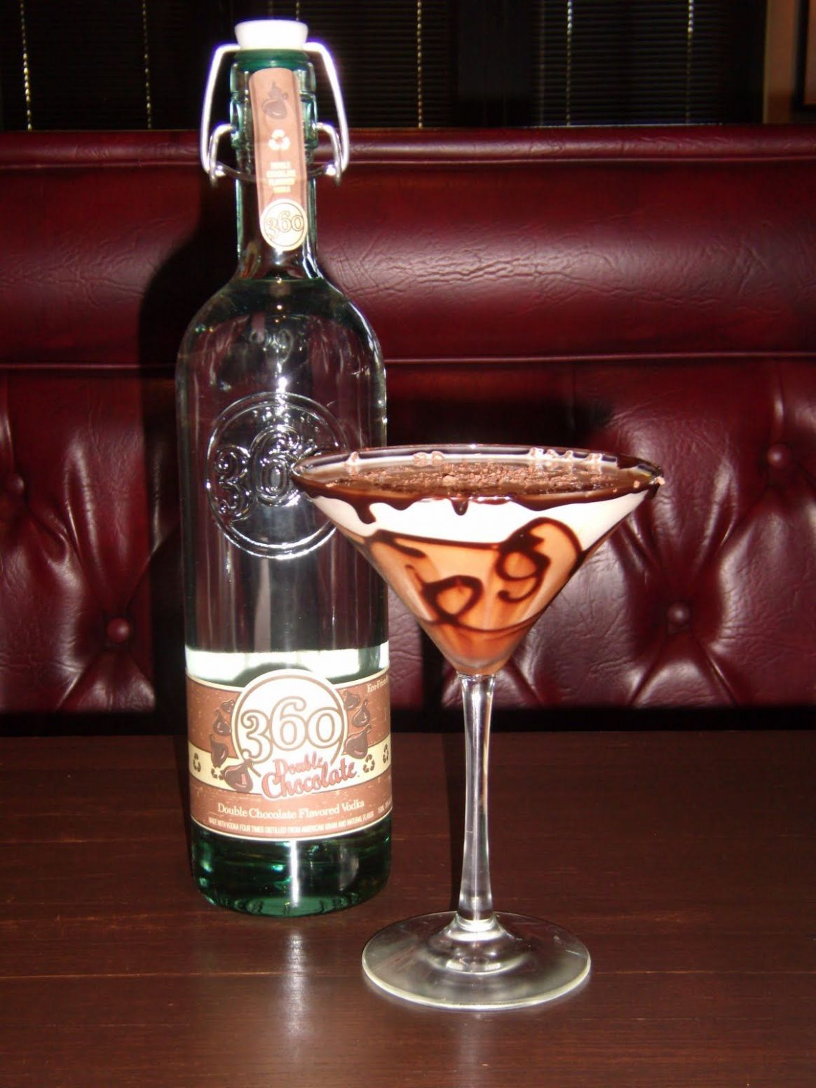 11 Double Chocolate vodka - my new favorite. Mix with cream soda ..