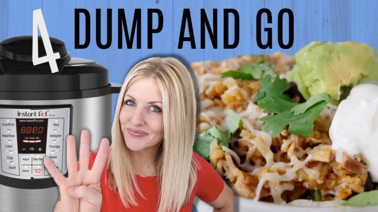 11 DUMP AND GO Instant Pot Recipes - Easy Instant Pot Recipes - Easy Recipes Instant Pot